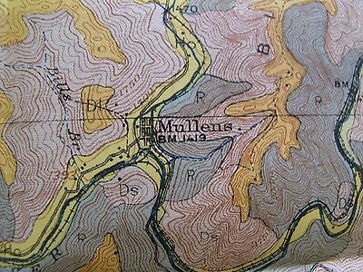 Soil Survey Map Wyoming McDowell County West Virginia Kimball Welch Pineville 3