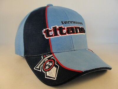 c9beabb7ad2b9c ... Tennessee Titans NFL Reebok Pro Line Adjustable Strap Hat Light Blue  Navy 2