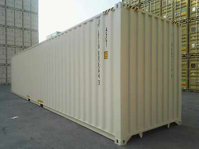 40' High Cube New Shipping Container, 40ft HC One Trip Container, Charleston,SC 3