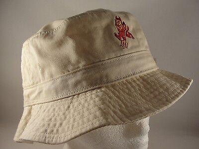 los angeles 78f56 77c16 ... new zealand 1 of 9free shipping ncaa arizona state asu sun devils  vintage bucket hat 83af6
