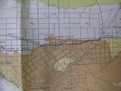 Soil Survey Map San Bernardino California Corona Redlands Riverside Perris 1904 3