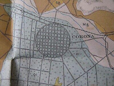 Soil Survey Map San Bernardino California Corona Redlands Riverside Perris 1904 4