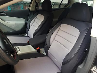 Sitzbezüge Sitzbezug Schonbezüge für Mazda 5 Hellgrau Sportline Komplettset