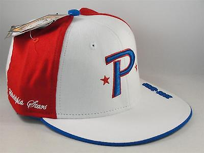 9848a1787 PHILADELPHIA STARS NEGRO League Headgear Fitted Hat Cap White Red