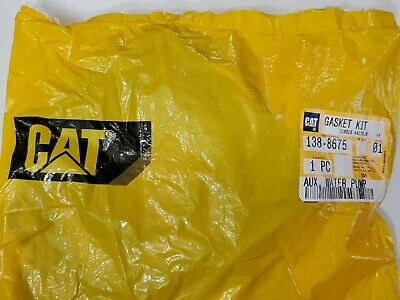 CATERPILLAR CAT Auxiliary Water Pump Install Gasket Kit - 138-8675  - NEW 2