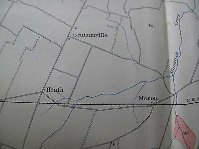 Color Soil Survey Map McCracken County Kentucky Paducah Mason Loneoak 1905 3