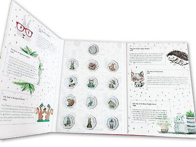 Beatrix Potter 2016-2018 50p coin album folder NEW Peter Rabbit Jeremy Fisher 4