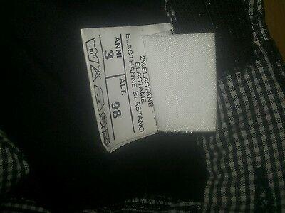 Pantaloni shorts bimba tg 3 2