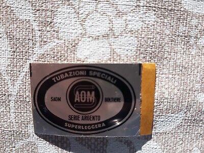 SAOM Tubazioni Speciali Superleggere Cycling Decal Sticker