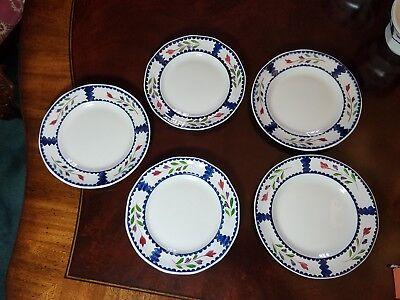 Adams Ironstone Lancaster Serving pieces, plates, cups, saucers, vegetable, bowl 8