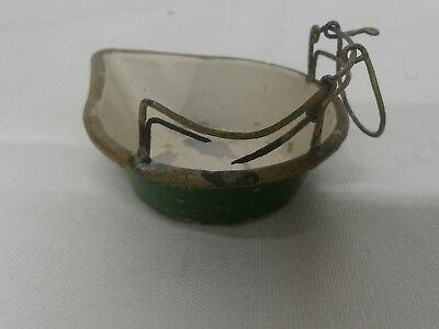 antike alte Balkenwaage Schwanenhalswaage Kaufmannsladen Blechspielzeug Waage 5
