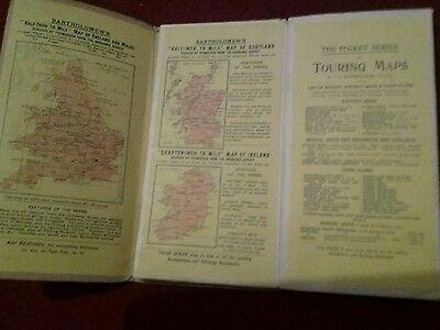 1910 ? Old Bartholomews New Reduced Survey  Sheet 2 South Northumberland Map 5