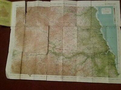 1910 ? Old Bartholomews New Reduced Survey  Sheet 2 South Northumberland Map 4