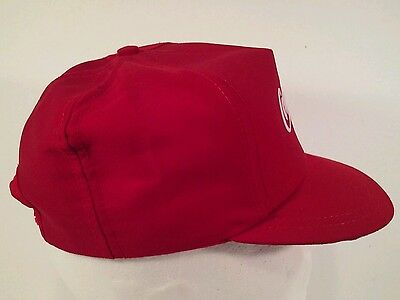 ... Vintage Red Embroidered Coca-Cola Snapback Hat Official Coke Product  Made in USA 4 895fcd98045d