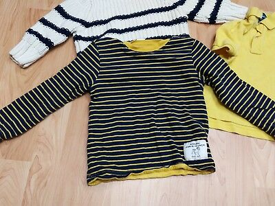 Lot of Boys 2T Toddler GAP Sweater Polo Ralph Lauren Yellow Janie & Jack GUC tie 6