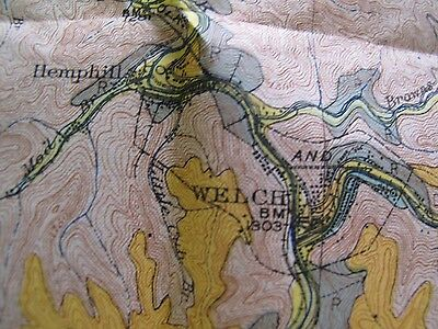 Soil Survey Map Wyoming McDowell County West Virginia Kimball Welch Pineville 2