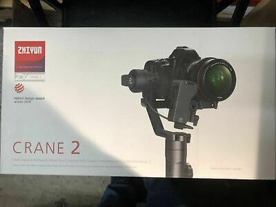 Used Zhiyun Crane 2 3-Axis Gimbal Stabilizer (with Follow Focus) for DSLR Camera 3
