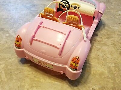 2006 Mattel Barbie Beach Glam Cruiser Pink Convertible Sports Car 3