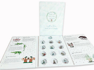 Beatrix Potter 2016-2018 50p coin album folder NEW Peter Rabbit Jeremy Fisher 5