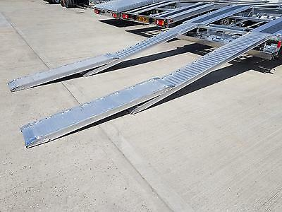 Recovery Truck Car Transporter Aluminium Loading Ramps Extension 150cm X 34cm