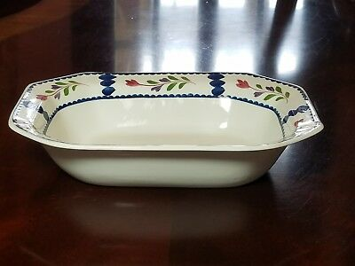 Adams Ironstone Lancaster Serving pieces, plates, cups, saucers, vegetable, bowl 5