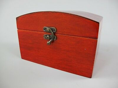 Schmuckschatulle Set v.2 Holz farbe Mahagonie Vintage Designer Geschenk Luxus 1 3