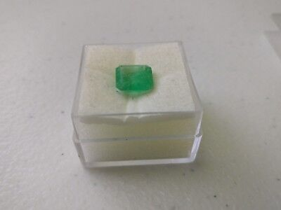 Natural Green Emerald Loose Gemstone Octagon Cut Stone 2.5 ct
