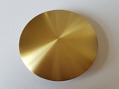 Satin Finish Brass Plated Bob Diameter 80mm Rod Size 19x6mm