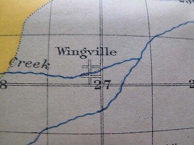 4 Soil Survey Alkali Maps Baker City Oregon Haines Wingville North Powder 1903 3