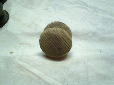 Antique wooden knob 2