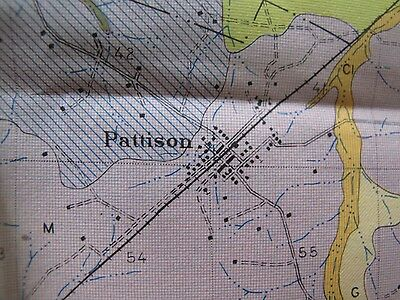 Soil Survey Map Clairborne County Mississippi Port Gibson Pattison Russum 1926 3