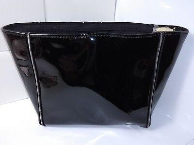 YvesSaintLaurent Kosmetiktasche schwarz glänzend Glitzer neu