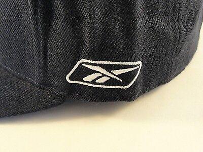 ... size 7 7ba8e d804a 2 of 8 NFL New England Patriots Reebok Flat Bill  Fitted Hat ... b9743063c