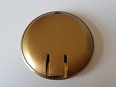 Satin Finish Brass Plated Bob Diameter 80mm Rod Size 19x6mm