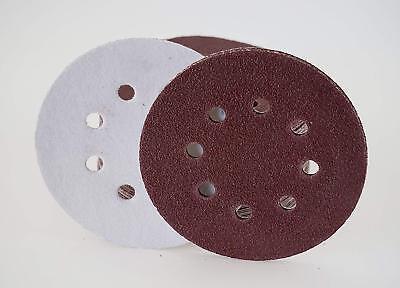 Schleifpapierteller Ø 125 mm Dorn Klett mit 25 Blatt Korn 60 Schleifscheiben