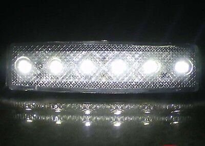 10 Stück 6 LED Rot Leuchte Lampe Anhänger LKW Wasserdicht x6 Seite 24V Neu