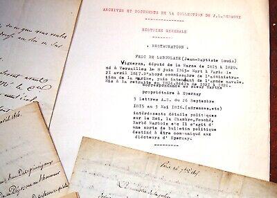 1815 Forc de Laboulaye Cultura Hon Epernay Explicación Politica Sur el Rey 3