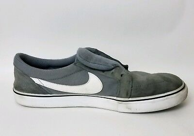 fenómeno saber suspender  NIKE SB SATIRE II Mens 8.5 M 729809 010 Gray Canvas Shoes Leather Sneakers  Skate - $39.99 | PicClick