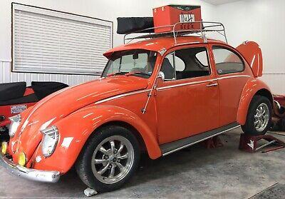 VW Super Beetle Bug Vintage Style Clip-On Green Sun visor Hot Rod Rat Rod