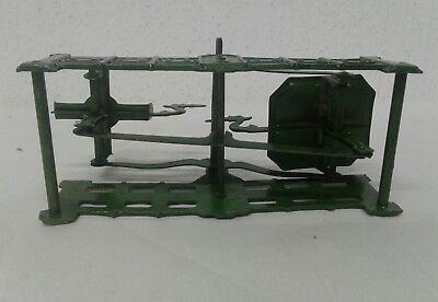 antike alte Balkenwaage Schwanenhalswaage Kaufmannsladen Blechspielzeug Waage 9