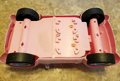 2006 Mattel Barbie Beach Glam Cruiser Pink Convertible Sports Car 7