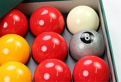 Aramith Premier GOLD 8 BALL Edition PINK and YELLOW Pool Balls EXCLUSIVE