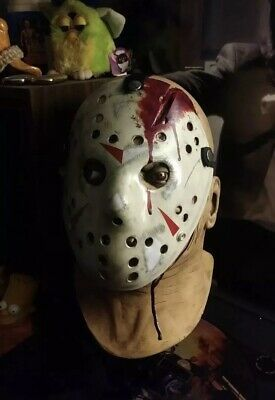 Jason Voorhees Dirty Roy Custom Hand Painted Mask Friday 13th High Quality Pvc