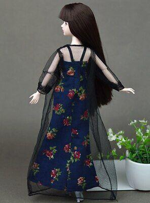 2pcs/set Fashion Clothes For Barbie Doll Dress Pajamas Lace Lingerie Sleepwear 5
