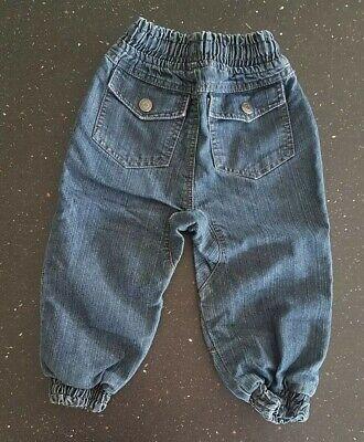 Lovely Pumpkin Patch Cuffed Leg Blue Jeans - Size 2 Years 2