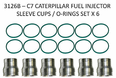 3126B CATERPILLAR INJECTOR Sleeve/ Cup Removal & Install Kit Complete 7 3L  3216B