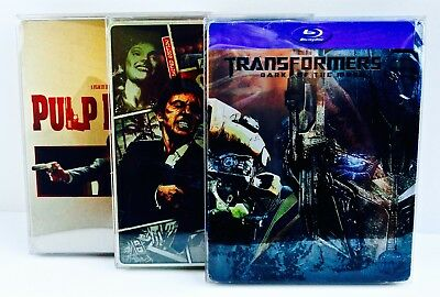 25 STEELBOOK Box Protectors  Protective Sleeves  Clear Plastic Cases / Covers G2 8