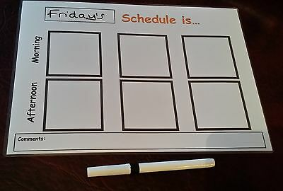 daily routine board