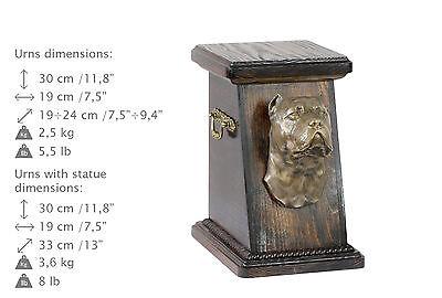 Cane Corso, dog urn made of cold cast bronze, ArtDog, UK - kind3 3