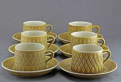 Quistgaard Relief B&g/kronjyden Tea  Cup Saucer And Cake Plate, 24Sets Available
